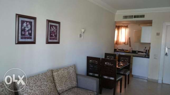 2-bedrooms Flat with private garden, sea and pool view الغردقة -  4