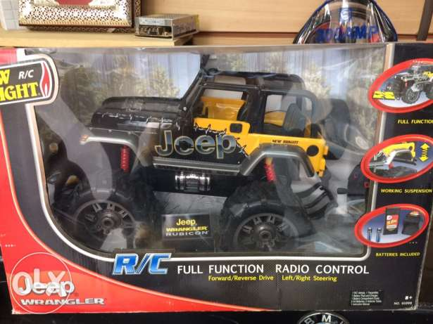 Jeep Wrangler Remote Control Monster
