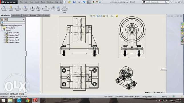 انا مصمم solidwork و مبرمج cnc powermill