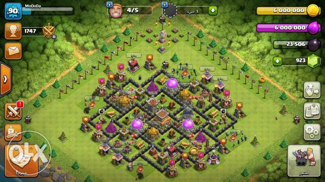 Clash of Clans قريه 8 ماكس