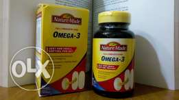 Omega-3 from USA.. Full and sealed