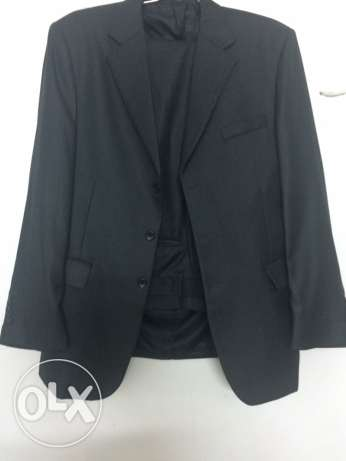 french black suit
