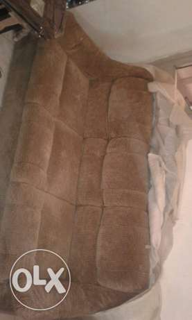 sofa 3 seaters with one chair
