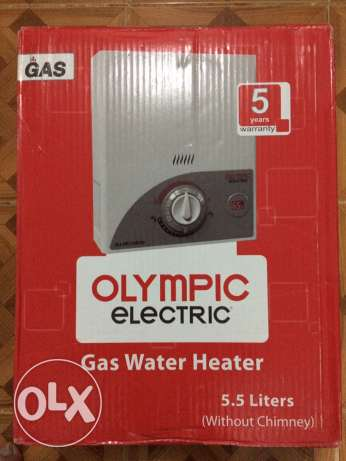 Gas heater olympic electric