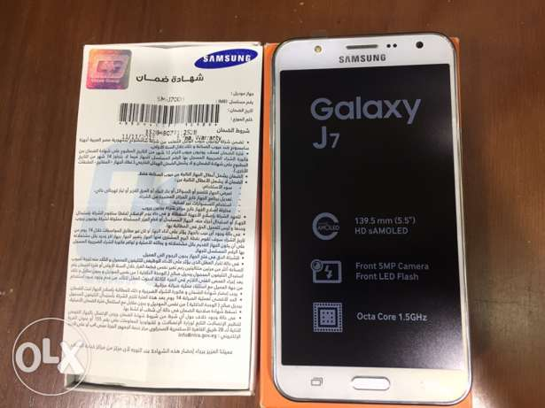 Samsung Galaxy J7/Very VeryGood Condition/All accessories/With Warra مدينة نصر -  5