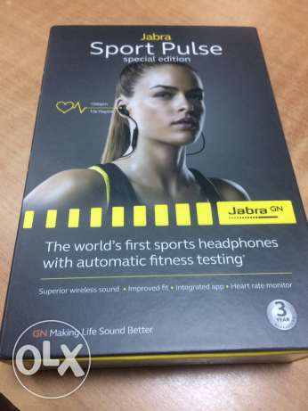 jabra sport pulse special edition sealed سماعة