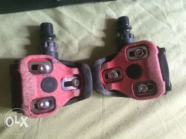 Exustar pedals and cleats