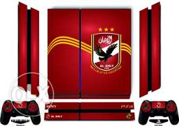PS4 Al Ahly SC Skin with free light bar For PlayStation 4