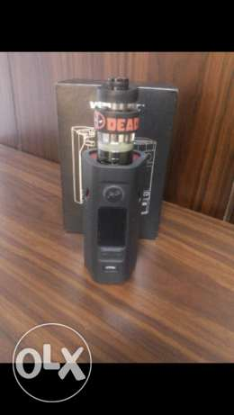 Vape wismic + clieto 120 tank +cover for 1700 with box and everthing
