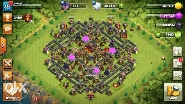 Claah of clans TH10