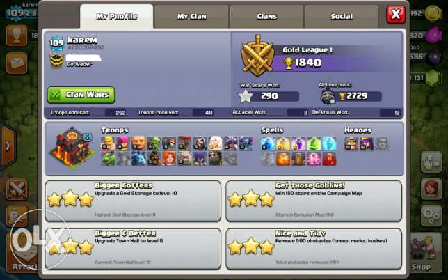 Clash Of Clans & Clash Royal Accounts الإسكندرية -  2
