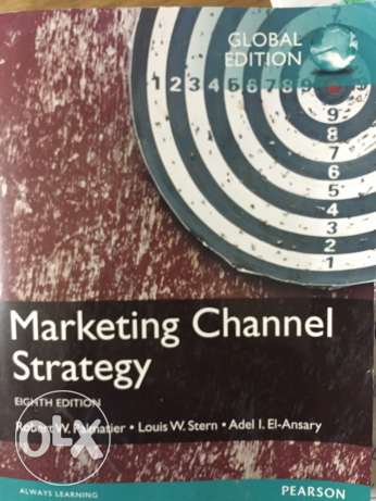 distribution channel strategy or marketing channel strategy book