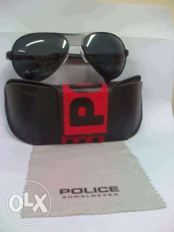 POLICE Polarized Black Sunglasses