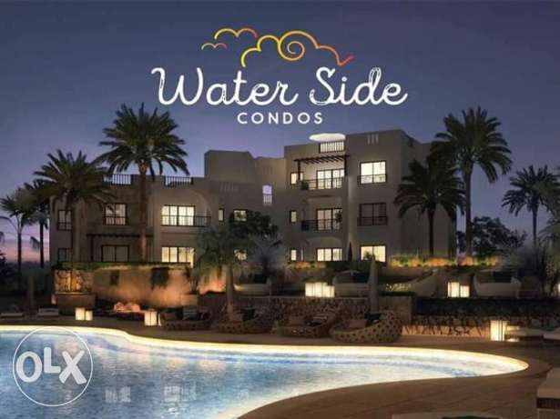 Apartment for Sale in Water Side Condos El Gouna with Garden