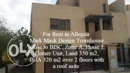 For rent in Allegria Townhouse