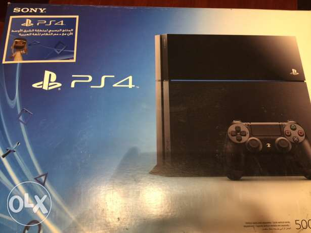 ps4 (play station 4) 6 أكتوبر -  1
