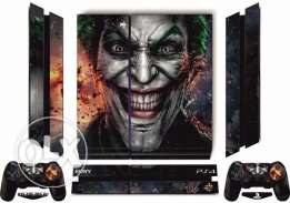 PS4 joker Skin with free light bar For Playstation 4