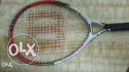 Group rackets wilson kids new condition for tennis of 1