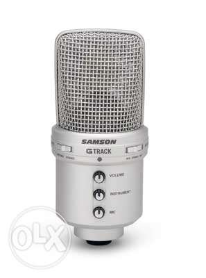 Samson G-Track - USB Condenser Microphone with Audio Interface