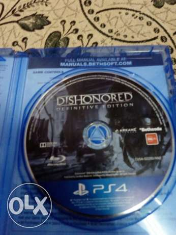 لعبتين ps4 dishonored and the last of us منيا القمح -  3