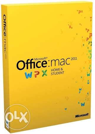 Microsoft Office Mac Home & Student 2011 Italian Language