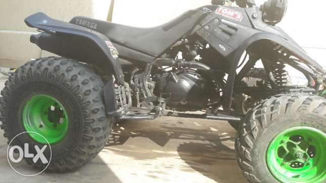 350cc atv yamaha warrior 2002 special edition التجمع الخامس -  2
