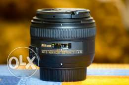 Nikkor 50mm 1.4 G Lens With Box