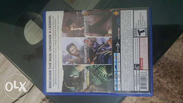 Uncharted collection(1, 2 & 3)