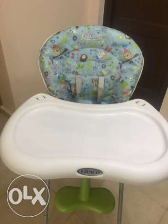 Original Graco highchair مدينتي -  5