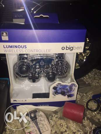 Luminous wireless controller for PS3™