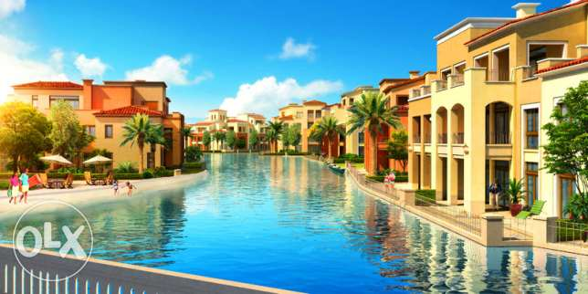chalet with roof im Emaar {marassi} lagoon view at blanaca