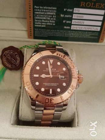 Rolex Yacht Master1 Rose-Gold first copy with box and Int. guarantee القاهرة -  1
