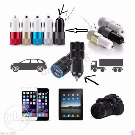 3.1A Dual 2 Ports USB LED Car Charger