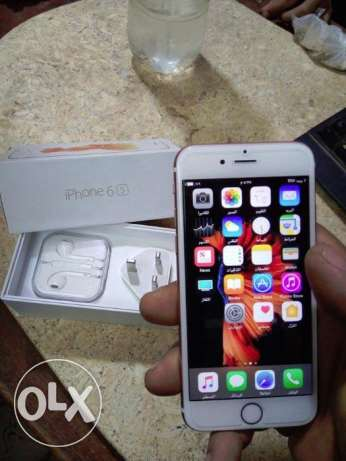 IPhone 6s gold 64 giga كسر زيرووو
