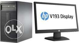 PC HP 280G, processor intel core i3 ,Ram 4GB , HDD 500 GB led