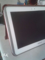 samsung galaxy note 10.1 n8000 white 16GB 3G with a lot of accessorie