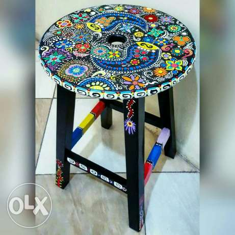 mexican bar stool in 60 cm hight