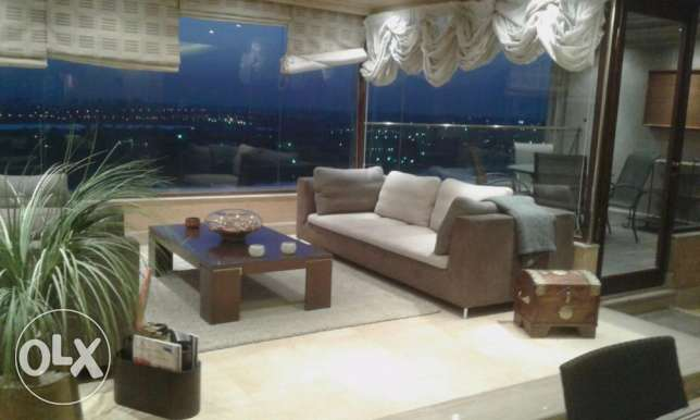 Luxury furnished apartment for rent directly on the Corniche of Maadi