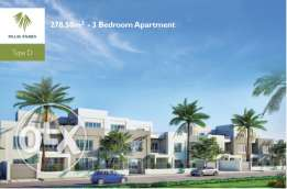 Apartment 274m with garden in Palm Parks