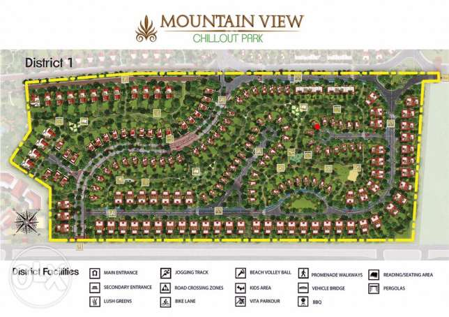 Stand Alone Villa in Mountain View Chill Out Park الشيخ زايد -  2