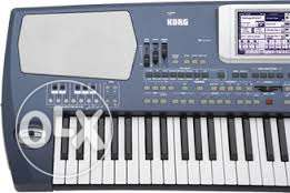 Korg pa500 screen with touch panel