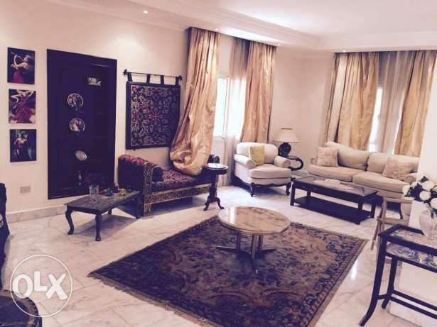 villa fully Furnished Greens compound Zayed