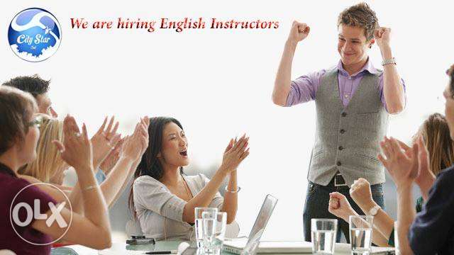 We Are Now Recruiting Full- And Part-Time English Instructors