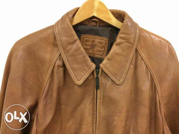 Hunt Club genuine Lambskin Leather Jacket high quality FROM USA