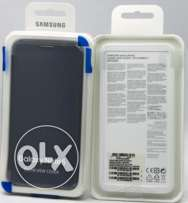 Original Samsung Clear View black flip cover