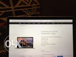Mac book pro with retina display 15inch