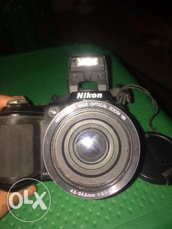 cam nikon l 310 with box and all accessories المطرية -  2