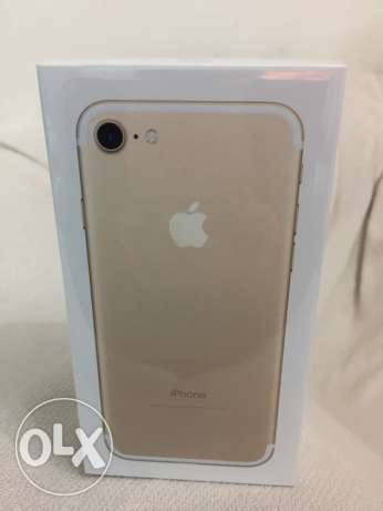 iPhone 7 Gold Brand New (256 Gb) + Case (Tech21) + Screen protection العجوزة -  3