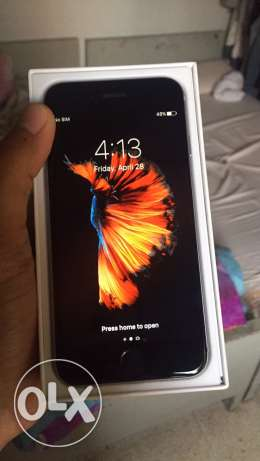 iphone 6s 64 exactly like the new one, includes all accessories