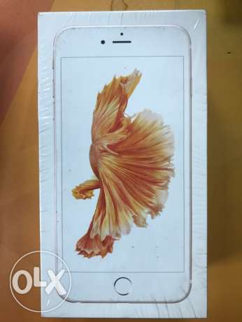 iphone 6s plus 64gb (Rose Gold)